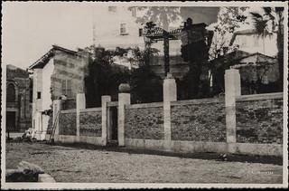 Ascoli com'era: si eseguono lavori sull'abitazione Matricardi a Porta Romana (1933)