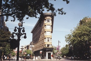 Vancouver British Columbia - Canada -  Former Hotel Europe