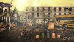 MadPea Forgotten Playground (CalebBryant) Tags: sl secondlife madpea playground zombie apocalypse wasteland dead imaginarium drd badunicorn quarantine
