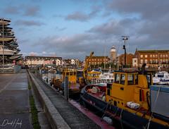 Port Life in Portsmouth (David Hardy Jr) Tags: portsmouthuk unitedkingdom seaside boats harbor