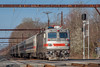 SEPTA AEM-7 #2302 @ Yardley, PA (Darryl Rule's Photography) Tags: 2018 aem7 april buckscounty catenary edgewoodrd electric express outbound pa passenger passengertrain pennsylvania railroad railroads regionalrail septa spartancab spring station sun sunny train trains westtrentonline woodbourne yardley