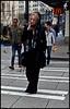 lady smoke (D G H) Tags: dgh daveheston heston washington wa woman walking seattle streetphotography smoking smoke cigarette city candid crosswalk urban macdonalds