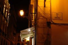 Lisbon (Caró) Tags: lisboa lisbon light lights night noite city cidade urban urbano portugal europa europe euro eu ue europeanunion sign placa architecture arquitetura arquitectura