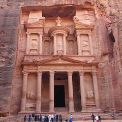 The Treasury in Petra (shaunshukayr) Tags: petra thetreasury jordan visitjordan tourism indianajones ancienttomb history