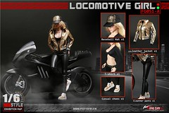 FIRE GIRL FG-051 Locomotive Girl Outfit - 51a8 (Lord Dragon 龍王爺) Tags: 16scale 12inscale onesixthscale actionfigure doll hot toys firegirl