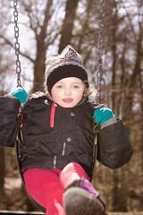 Walking at Mirror Lake - 5 (Keppyslinger) Tags: wisconsin nature mirrorlake woods family tree walkingwithdad daughter