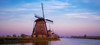 Windmills in Pink and Blue (Peet de Rouw) Tags: twilight bluehour zonsondergang windmills kinderdijk molens vaart boezem holland peetderouw denachtdienst