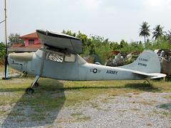25190 Cessna O-1A Bird Dog (in false marking) (johnyates2011) Tags: 25190 birddog cessna cessnao1 cessnao1birddog usarmy royalthaiarmy 2118 5112118 jesadatechnikmuseum thailand nakhonpathom cars