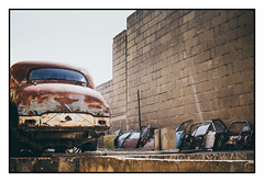 PARTS (Cristiano Delise) Tags: canon 800d efs24mm pancake car parts abandoned rusty grunge doors perspective inspiration colors lightroom5 eos dslr apsc stm street
