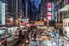 Hong Kong (drasphotography) Tags: hongkong hong kong china nightshot nachtaufnahme night metropolitan metropolis city cityscape drasphotography stadt città notte urban scenary travel travelphotography reisefotografie reise