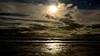 Atardecer en la playa. Sunset at the beach. (.Guillermo.) Tags: playa beach paisajes paisaje landscape landscapes cielo sky clouds nubes sol sun sunset atardecer arena agua water nikon sigma sigma1750 cádiz andalucía spain