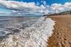 Nose's Point Incoming Tide (robinta) Tags: waves tide surf longexposure sea ocean seaandsand sand beach coast seaham 200d canon canon1018mm sky clouds nature seascape landscape ngc color water coastal