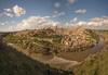 Toledo. (Amparo Hervella) Tags: toledo españa spain paisaje paisajeurbano río ciudad cielo nube panorámica color largaexposición d7000 nikon nikond7000 agua árbol