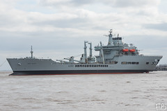 Wave Ruler A390 (frisiabonn) Tags: vehicle ship water wirral liverpool england uk britain marine vessel river mersey merseyside sea shore waterfront maritime boat outdoor birkenhead cammell laird shipyard wave ruler a390 rfa royal fleet auxiliary tanker cargo military naval navy