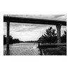 Mississippi River Backwater From Near Quinsippi Island (greenschist) Tags: kodagold200 quinsippiisland bridge asahipentaxspotmaticii mississippiriver blackwhite supertakumar55mmf18 quincy film analog illinois
