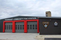 Thornaby Community Fire Station (Ben - NorthEast Photographer) Tags: cleveland fire brigade thornaby community station new