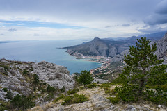 View over Omis