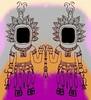 Friday Doodle version 2 (Lindsaywhimsy) Tags: effigy doodle illustration pen ink colourful