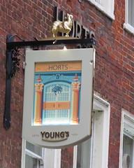 Horts' Sign (EMStanton) Tags: bristolcitycentre bristol pubsigns