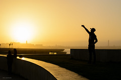 Sunset in Casablanca (Laszlo Horvath.) Tags: casablanca morocco sunset light nikon selfie silhouette nikond7100 sigma1835mmf18art