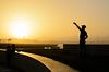 Sunset in Casablanca (Laszlo Horvath.) Tags: casablanca morocco sunset light nikon selfie silhouette nikond7100 sigma1835mmf18art