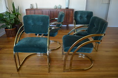 DSC_0003 (blueintuit) Tags: hollywoodglam hollywoodregency midcenturymodern mcm midcentury 1970s diningchairs milobaughman brassdiningchairs cantilevereddiningchairs