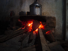 Traditional clay stove (elly.sugab) Tags: stove clay fire cook cooking traditional village outback