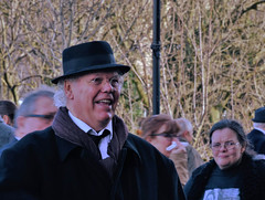 Roy Chubby Brown (James O'Hanlon) Tags: sir ken dodd sirkendodd kendodd funeral cathedral anglican liverpool liverpoolcathedral anglicancathedral stars knotty ash knottyash squire legend comedy