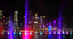 singapore colors (poludziber1) Tags: travel urban asia capital water colorful color night skyline cityscape city singapore
