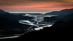 Machlud ar Aber Mawddach (Alan Hughes Mach) Tags: cymru wales uk eryri snowdonia snowdonianationalpark barmouth fairbourne mawddach dolgellau sunset sundown dusk estuary light landscape landschaft paysage scenery shadow shadows natur natural naturaleza sky ciel cielo water sea ocean hills hill walk walking hike hiking silhouette black welsh cymraeg wasser march spring paisaje outside canon eos 200d canoneos200d canon200d sl2 rebelsl2 canonsl2 canonrebelsl2 mar seascape weather evening skyline colour lowkey