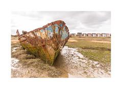 I was Here First (Chris Willman - Yorkshire) Tags: boats wrecks shipwrecks lancashire fleetwood
