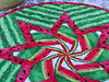 829_Watermelon Table Topper_c (QuiltinWaYnE) Tags: quilted handmade kitchentabledecor diningtabledecor coffeetabledecor tablemat tabletopper tabledecor quiltedtabletopper quiltsy etsyseller etsyquilter etsy etsyshop etsyhandmade qqqetsy quiltedtabledecor tablelinen handmadequilt tablequilt watermelon