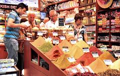 Spice Bazzar (M McBey) Tags: istanbul turkey bazaar spice tourist exotic