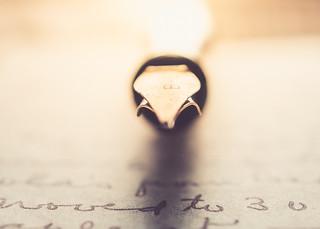 ~My pen is an artery, my heart is a fountain.