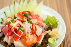 Sushiaki (Fábio.Mattos) Tags: sushiaki bourbon shopping bourbonshopping fábiomattos food pornfood sushi cebiche ceviche fish peixe shrimp camarão salmon salmão