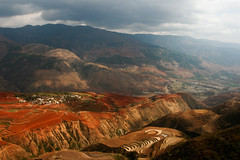 Land of the red earth (ronniedankelman) Tags: asia china redearth yunnan dongchuan landscapephoto landscape landscapephotography nature naturephotography naturelover natureaddict explorechina discoverchina exploretheworld discovertheworld natgeo nationalgeographic travelphotography photolovers chinatravel naturephotographer landscapephotographer ilovenature beautifulchina traveltheworld enjoythemoment natgeotravel natgeotravelpic red