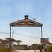 Gate to enter the town, Togdheer region, Burao, Somaliland