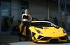 Lamborghini e modella (Mauro Bettarel) Tags: lamborghini modena modella gialloyellow autodromo donne woman