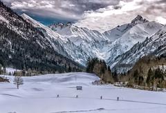 Four (fotoerdmann) Tags: allgäu alpen oberstdorf canon6dmark2 landscape landschaften schnee snow winter winterfoto berge fotoerdmann