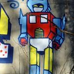 street art, Roseburn Park 03 thumbnail