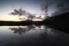 Day 38 of 40; A Glow in the West (photography by Derek G) Tags: mountains landscap sunset horizon night twilght clouds reflection water landscape wilderness yosemite nationalpark highsierra backpacking camping hiking wildernesswandering