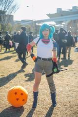 Bulma (e-jump) Tags: comiket c93 tokyo winter japan bulma dragonball cosplay
