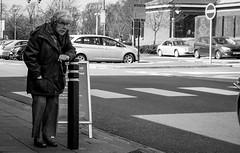 2018_104 (Chilanga Cement) Tags: fuji fujix100f fujifilm ormskirk candid lady sunshine bw blackandwhite monochrome car cars age wisdom rest resting woman shopping shadows shadow street sidewalk streetphotography