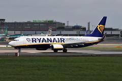 EI-FIT Boeing 737-8AS Ryanair (eigjb) Tags: dublin airport eidw ireland international collinstown jet transport aviation plane spotting aircraft airplane 2018 airliner eifit boeing 7378as ryanair b737 737 irish lanzarote logo