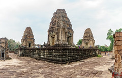 Eastern Mebon Temple, Siem Reap, Cambodia (January 2018) (H_E_L) Tags: hel cambodia siemreap angkor khmer unesco unescoworldheritage architecture asia temple buddhist buddhism easternmebontemple eastmebontemple easternmebon eastmebon mebon