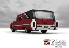 Cadillac 1984 Fleetwood Hearse (lego911) Tags: cadillac 1984 fleetwood series 70 hearse commercial lwb ambulace v8 dbody usa america auto car moc model miniland lego lego911 ldd render cad povray ambulance