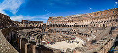 Colloseium Panorama (bilalqasim) Tags: rome colloseium italy nikonfullframe nikond750 nikontop travel travelphotography tourism europe