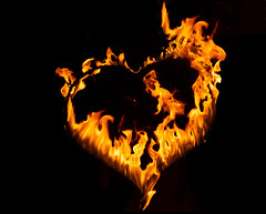 Burning Love (Rolf Enderes) Tags: fire love burning