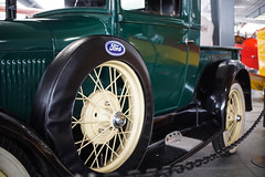 Spoke (crbrownies) Tags: airplane automobile antique museum western pacific northwest oregon washington hood river