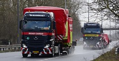 23-BFV-7  52-BGD-7 (panmanstan) Tags: mercedes mammoet actros mp4 wagon truck lorry commercial heavy haulage freight transport international vehicle a63 everthorpe yorkshire